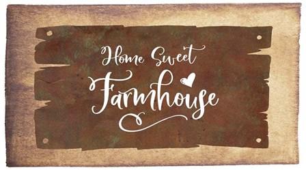 Home Sweet Farmhouse by Tara Moss art print