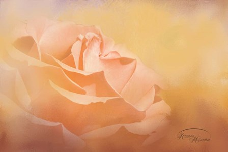 Flowers in Heaven by Ramona Murdock art print