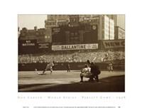 BASEBALL ART PRINT Jackie Robinson Leaving Ebbets Field Corbis Bettmann